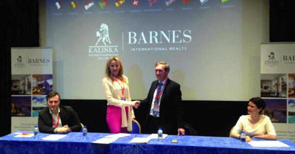 KALINKA BARNES: A Real Estate Partnership in Russia