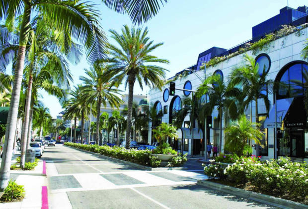 Rodeo Drive: The Famous Street of Beverly Hills in Los Angeles