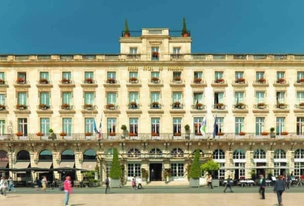 Le Grand Hôtel de Bordeaux & Spa propose un wine concierge service