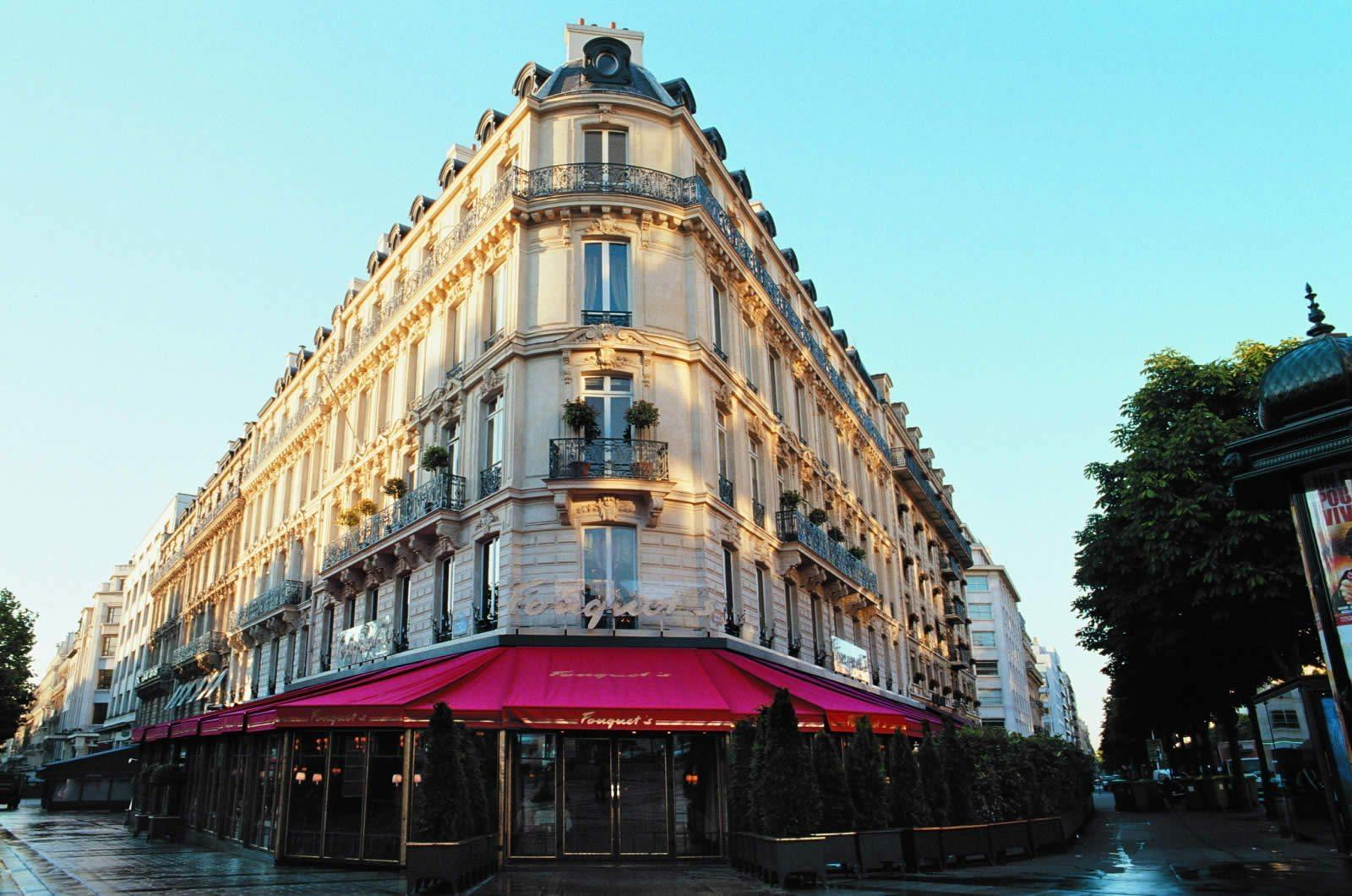 Barri Re Le Fouquet Paris Hotel A Mythical Place In Paris