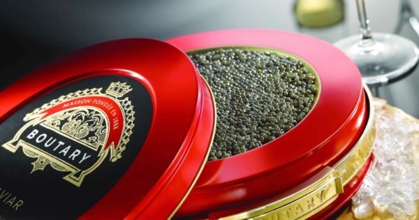La maison Boutary ouvre son premier bar à caviar à Paris