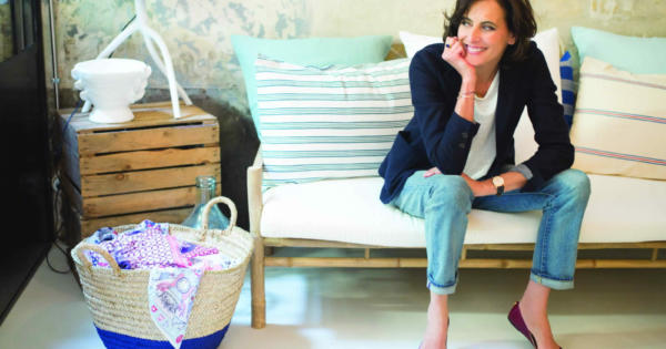 The Parisian Inès de la Fressange and her Idea of Luxury