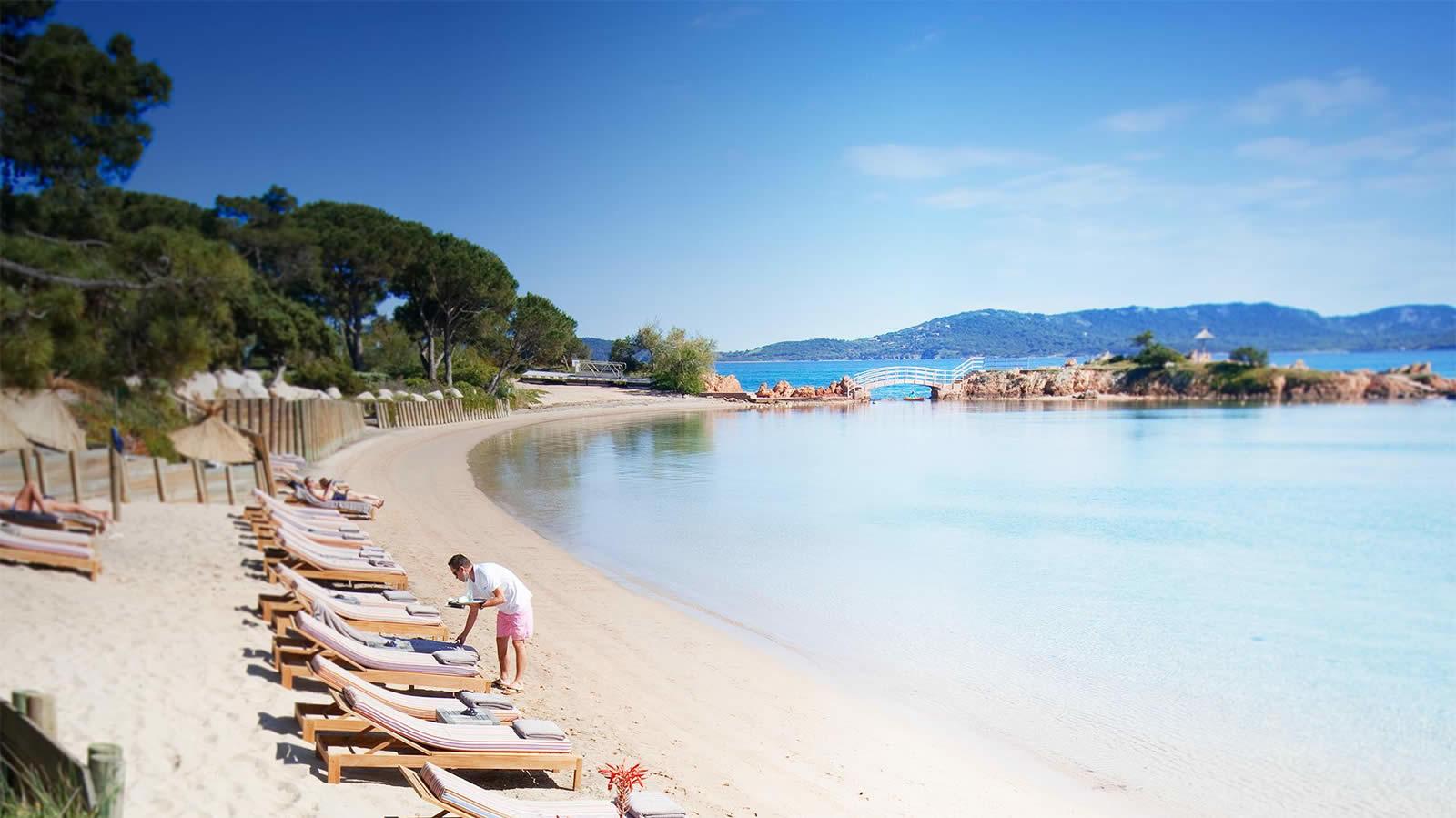Tramulimacchia Beach in Lecci - South Corsica - France