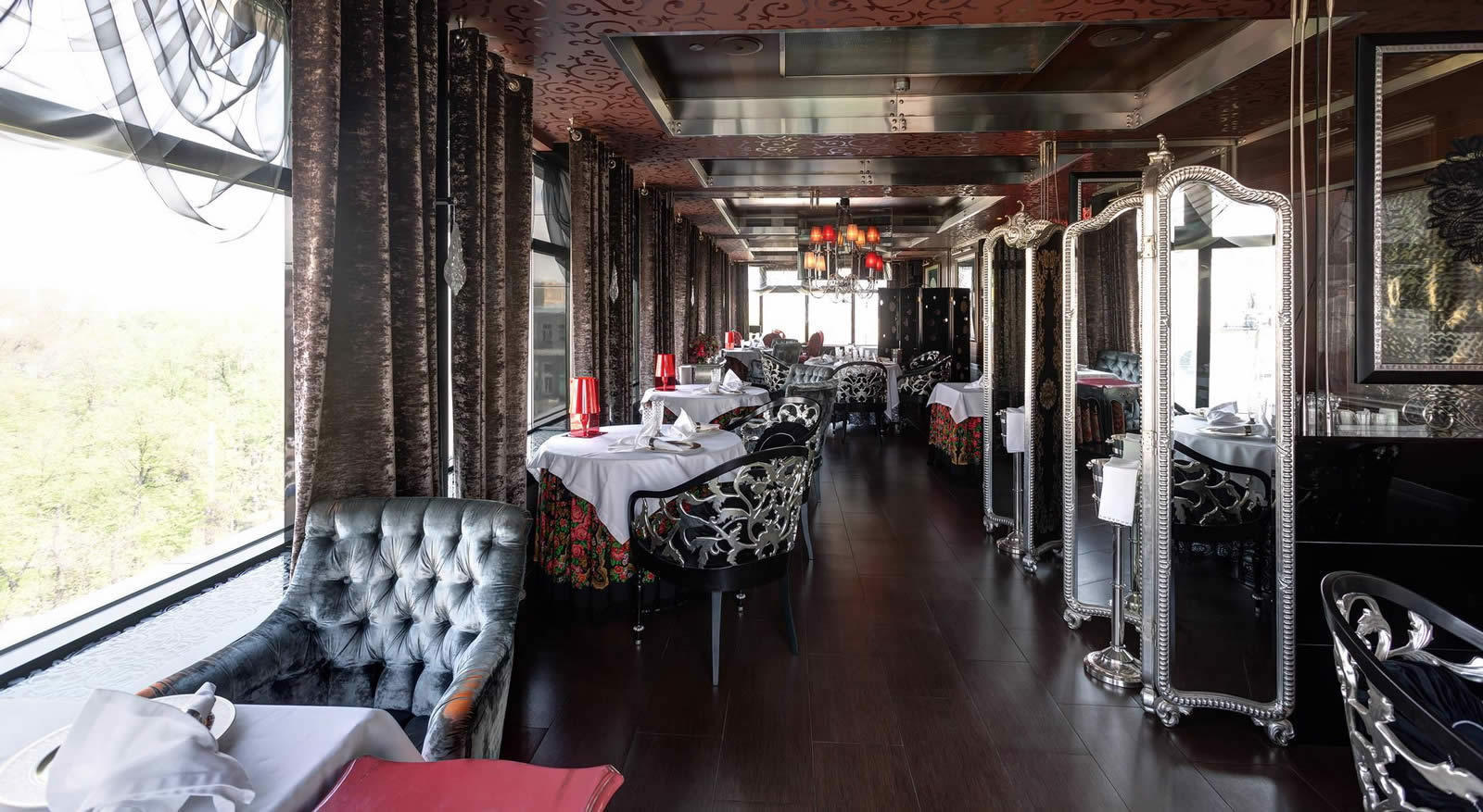 Varvary restaurant moscou entre exp rience et cuisine for Restaurant cuisine moleculaire