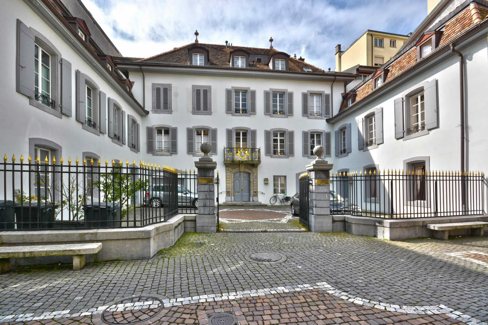 luxury apartment in renovated hotel for sale in vevey