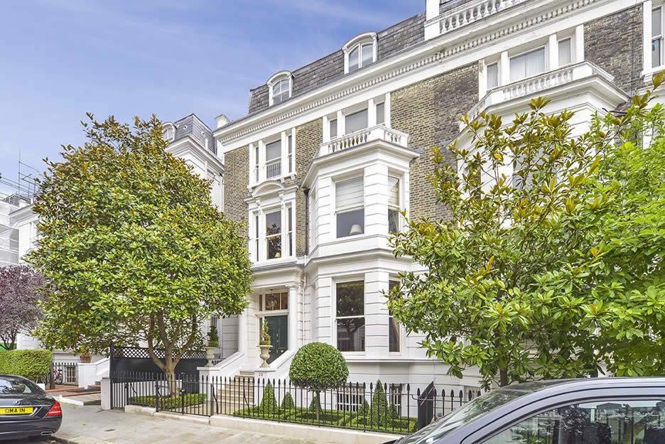 Grande maison avec terrasse et jardin vendre au coeur de londres - Acheter appartement londres ...