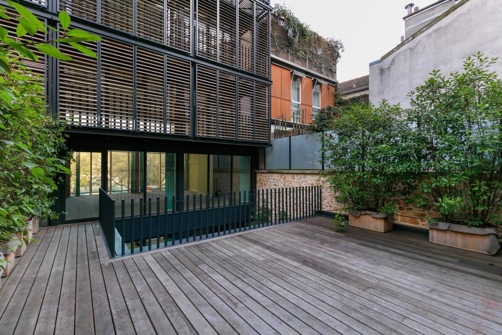Superbe maison d 39 architecte neuve et moderne avec une for Architecte pour les maisons