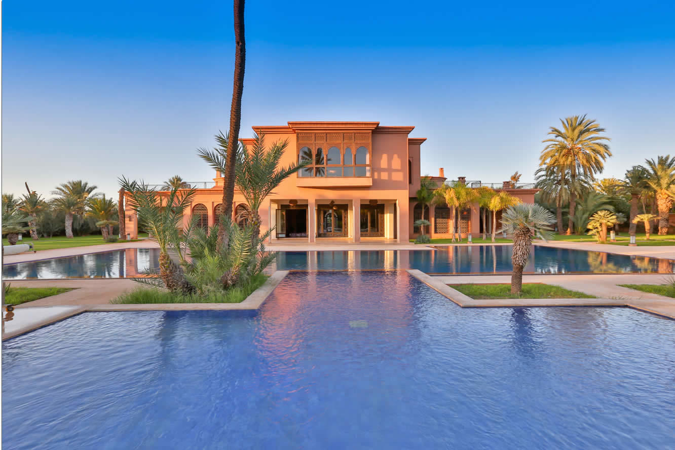 Luxury Property in the Palmeraie with Indoor and Outdoor Pool for ...