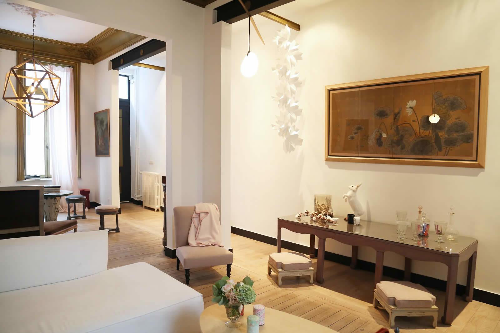 Interieur maison de maitre renovee maison moderne for Interieur 18eme siecle