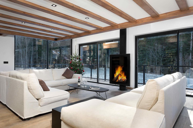 Chalet neuf d\'exception au design contemporain à vendre à Chamonix ...
