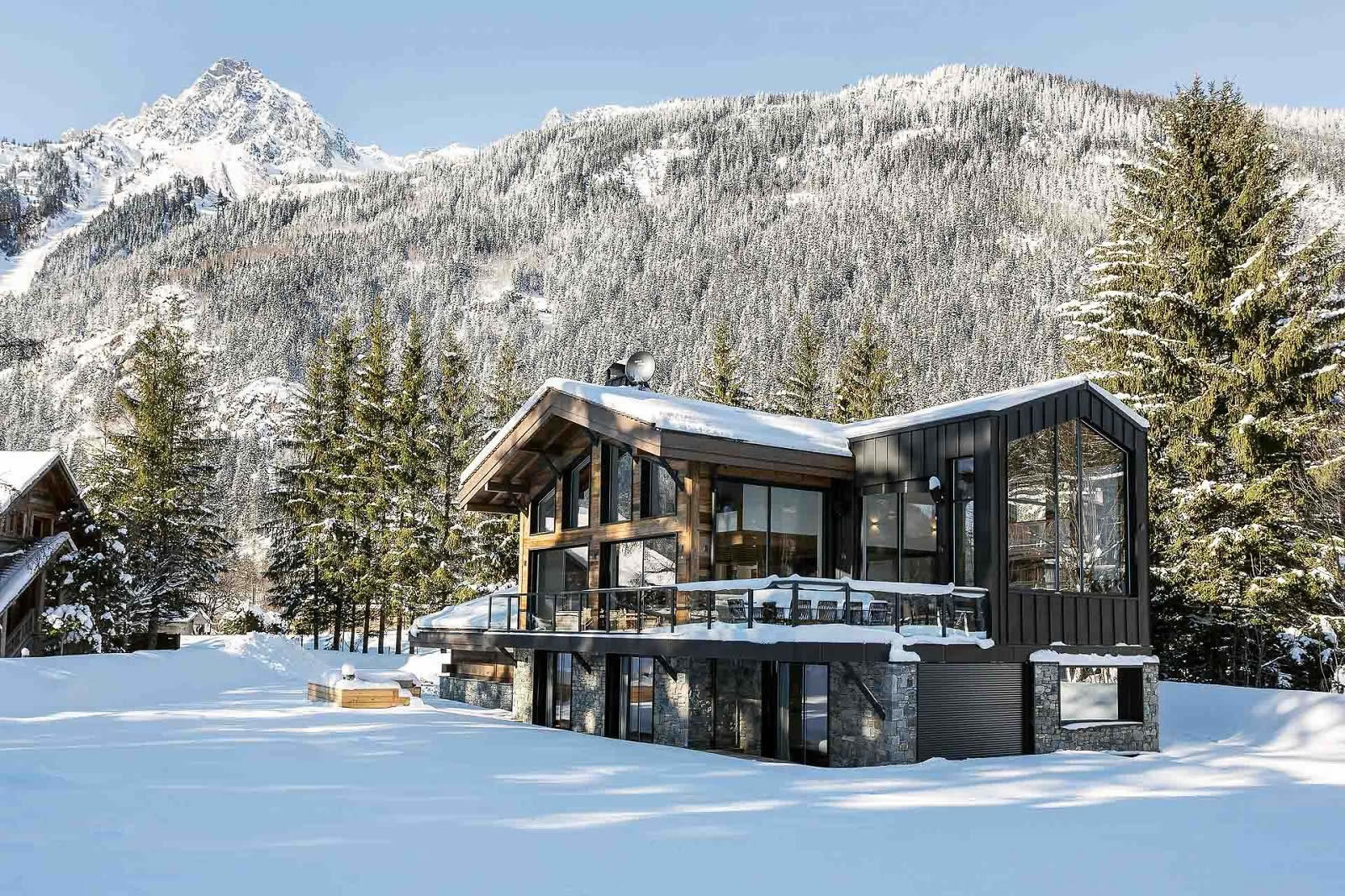 Brand New Chalet of Exceptional Contemporary Design for sale in ...