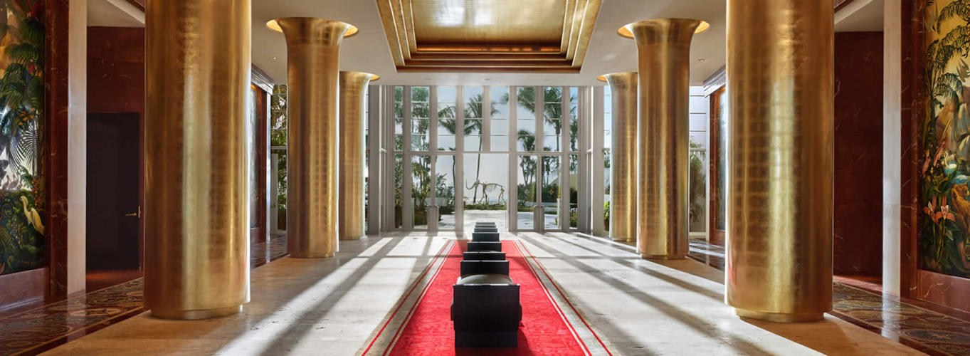 Will Gatsby be at the Faena Hotel in Miami Beach?