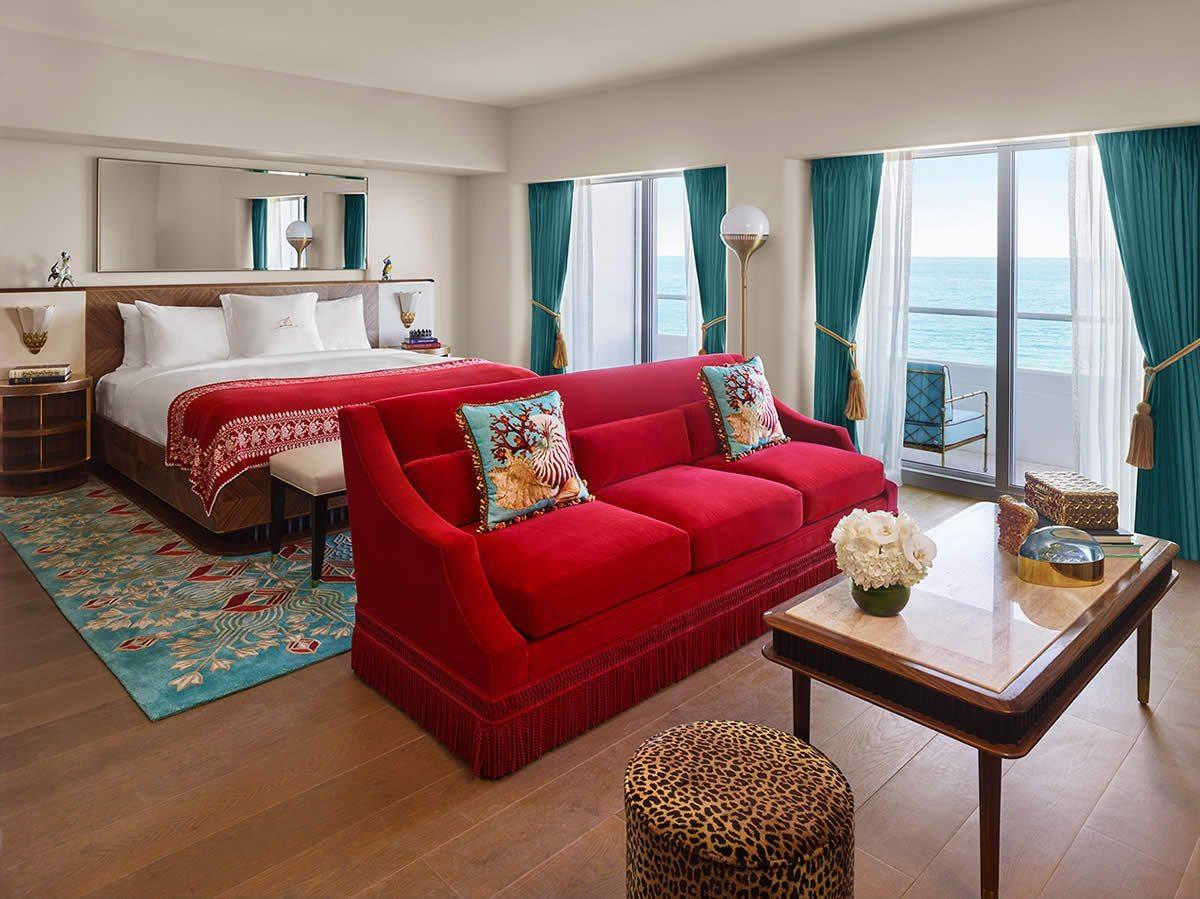 The faena hotel in miami beach featuring luxurious rooms for Chambre luxe