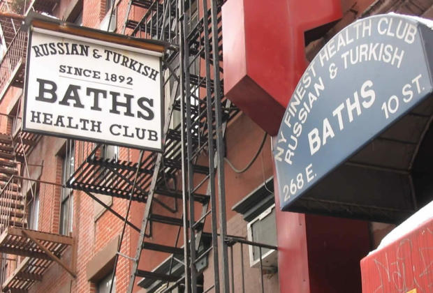 Russian Turkish Baths The Trendy Spa In The East Village New York