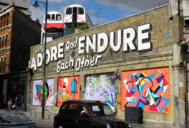 Shoreditch le quartier hype de londres street art galeries antiquit s f - Quartier shoreditch londres ...