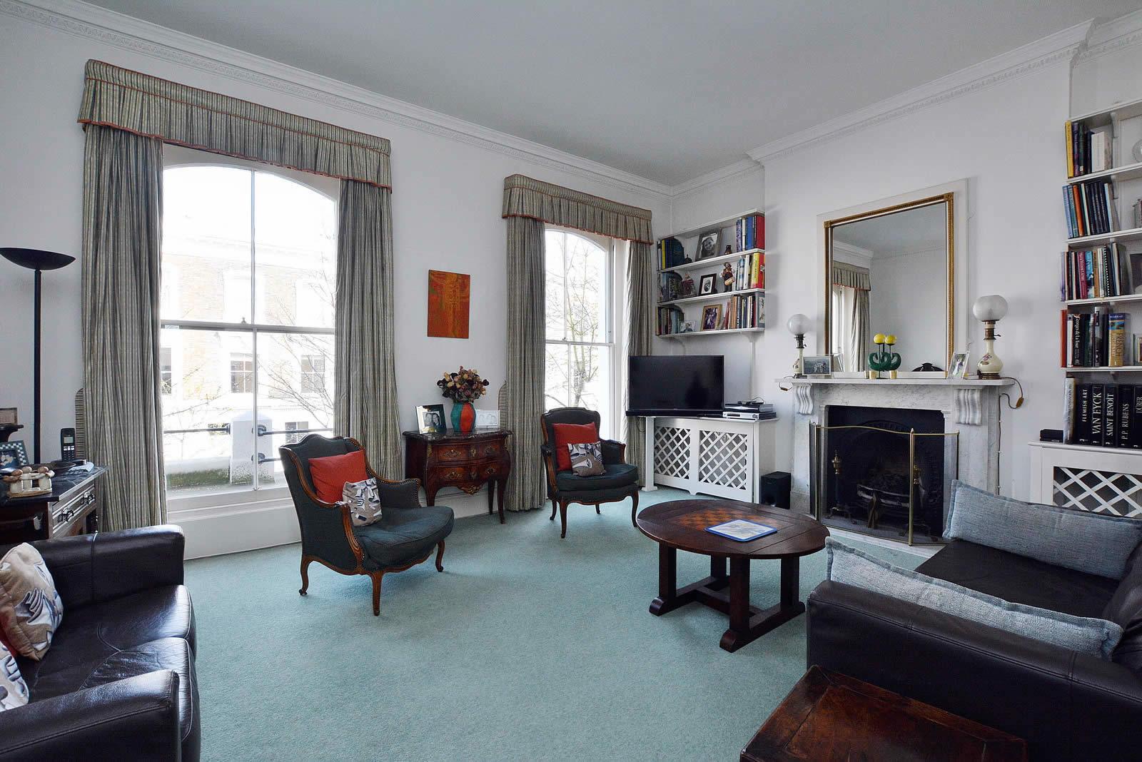 Maison familiale vendre kensington londres 2 terrasses 1 jardin privatif 5 chambres et - Chambre familiale londres ...