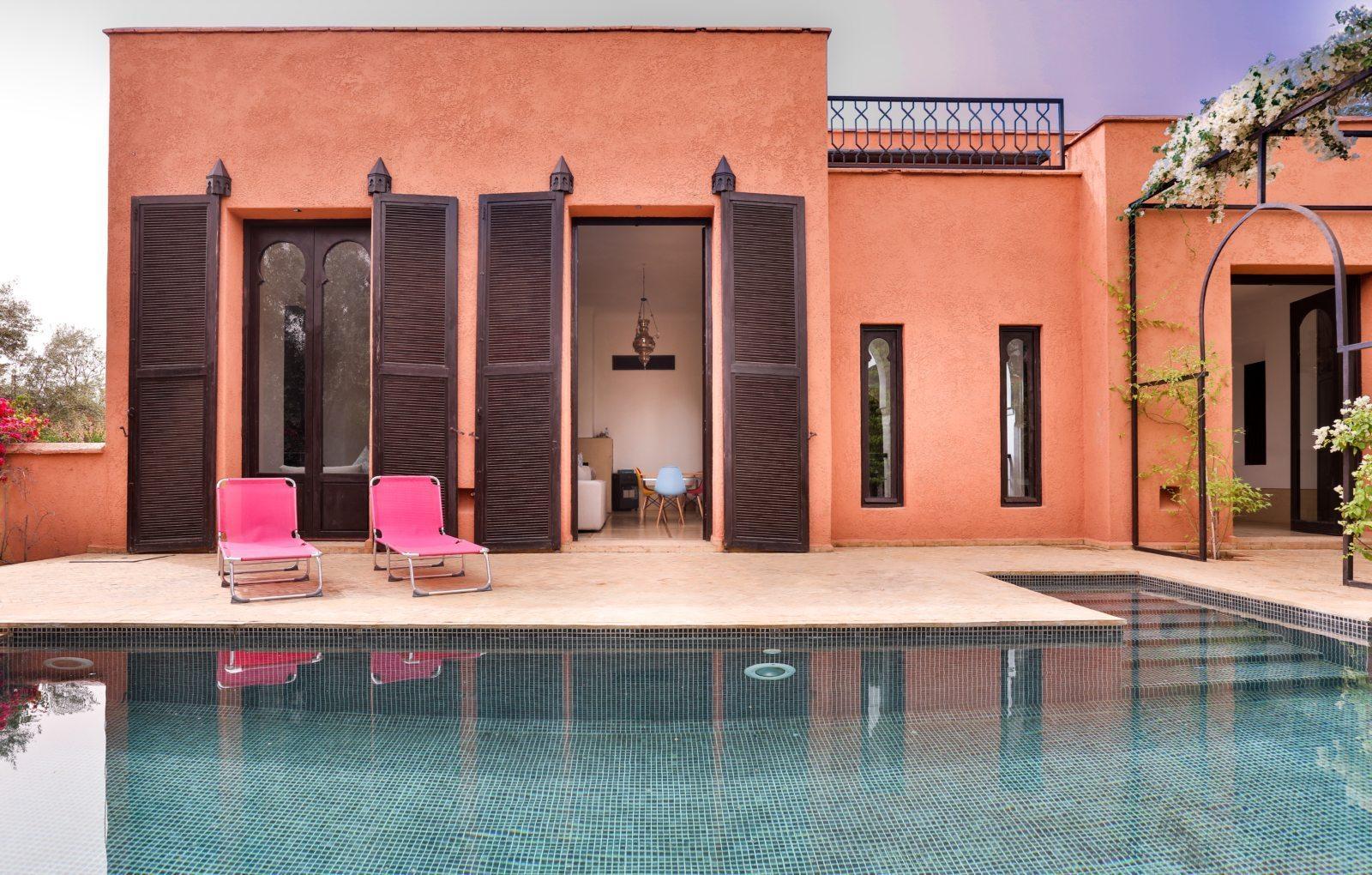 Tr s beau riad avec piscine vendre marrakech 5 for Riad a marrakech avec piscine