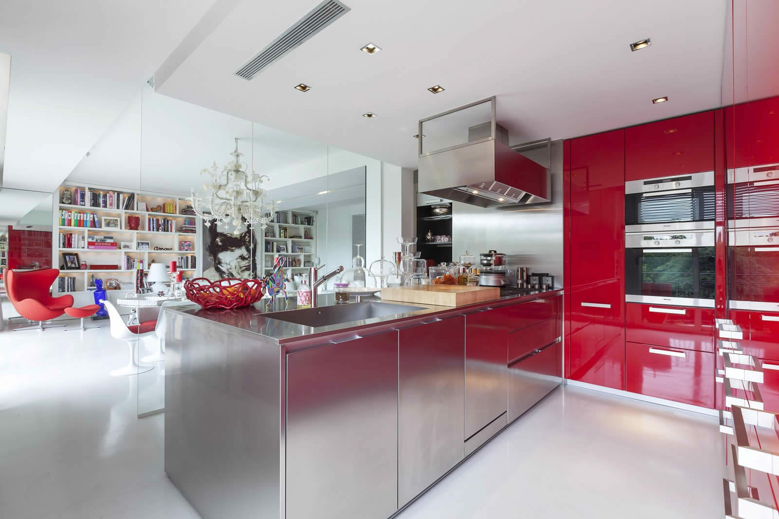 Kitchen Design Apartment Living