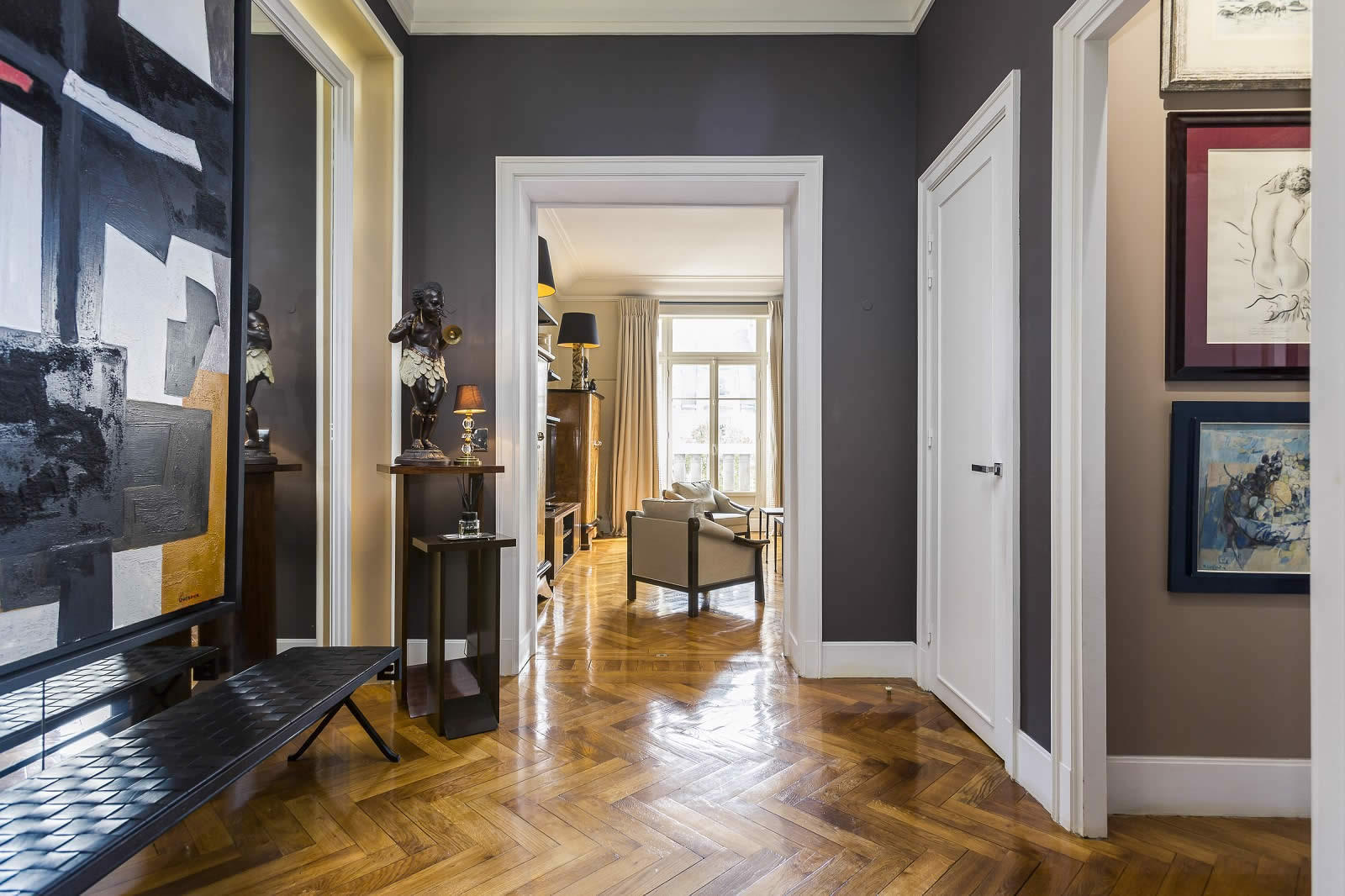 Renovated Apartment For Sale In The 7th Arrondissement Of