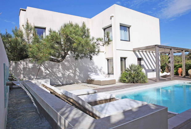 villa louer chiberta anglet piscine acc s priv la plage vue mer 5 chambres et golf. Black Bedroom Furniture Sets. Home Design Ideas