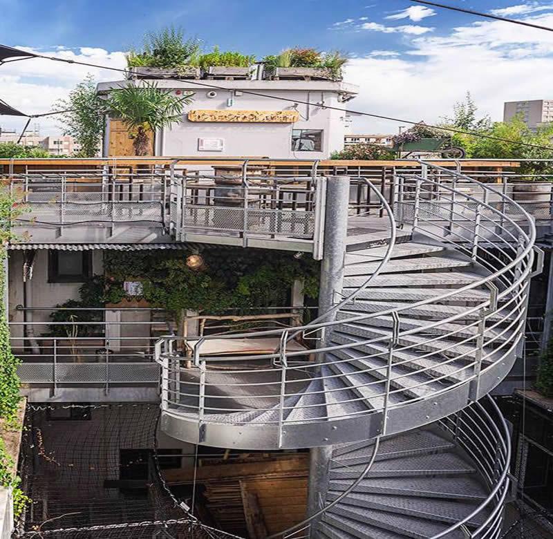 Le Perchoir Paris Restaurant Et Bar Rooftop Dans Le 11e