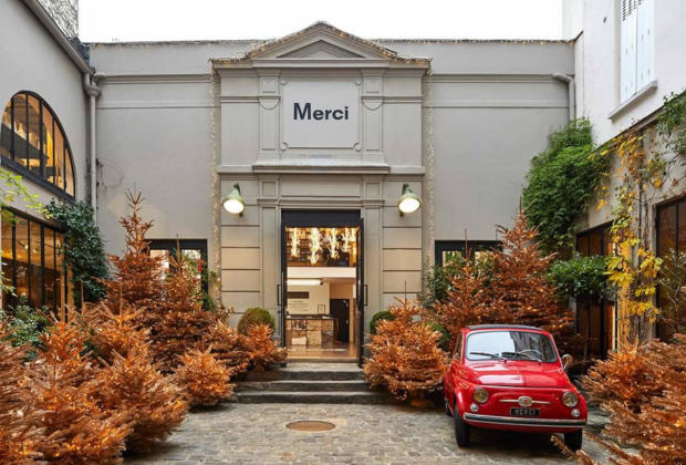 Merci: A Concept Store in Paris - Cafe-Restaurants, Apparel, Jewelry ...