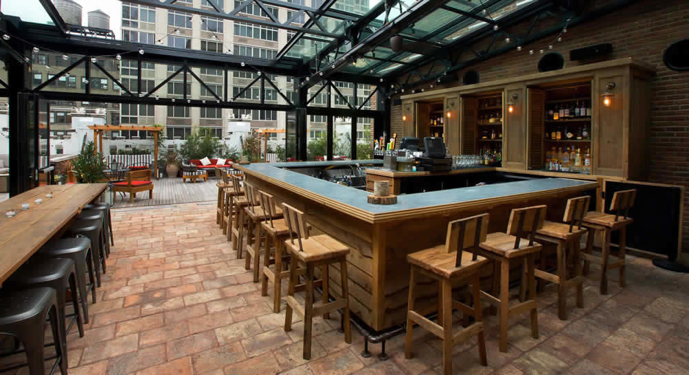 Refinery Rooftop Bar New York 3 Ambiances Diff 233 Rentes