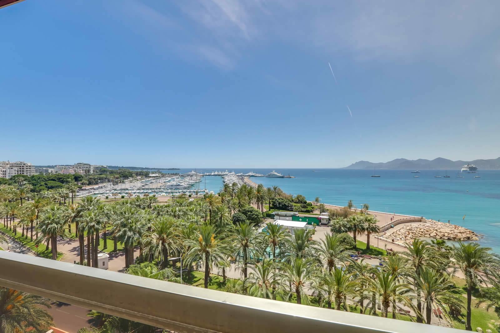 Cannes Appartement A Vendre Vue Mer