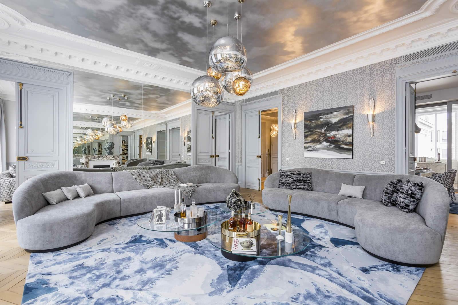 appartement vendre avenue marceau paris avec vue sur l arc de triomphe. Black Bedroom Furniture Sets. Home Design Ideas