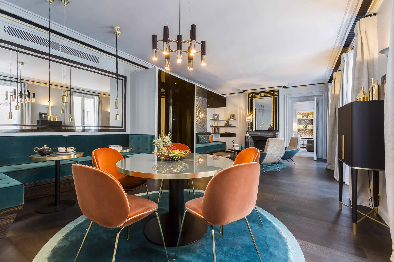 Interview with g rard faivre on the art homes concept pairs for Appartement luxe