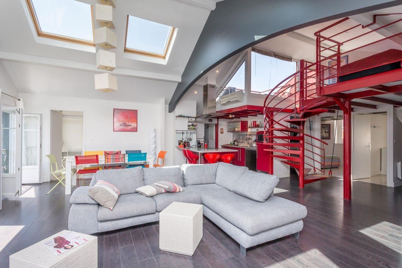 Appartement En Duplex En Plein Centre Ville De Saint Jean