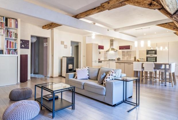 En Plein Centre Ville D'Évian-Les-Bains, Magnifique Duplex À
