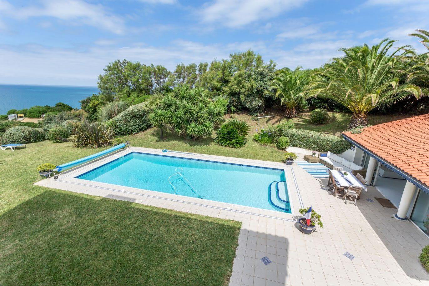 Basque Family Villa Pool For Rent Bidart Access