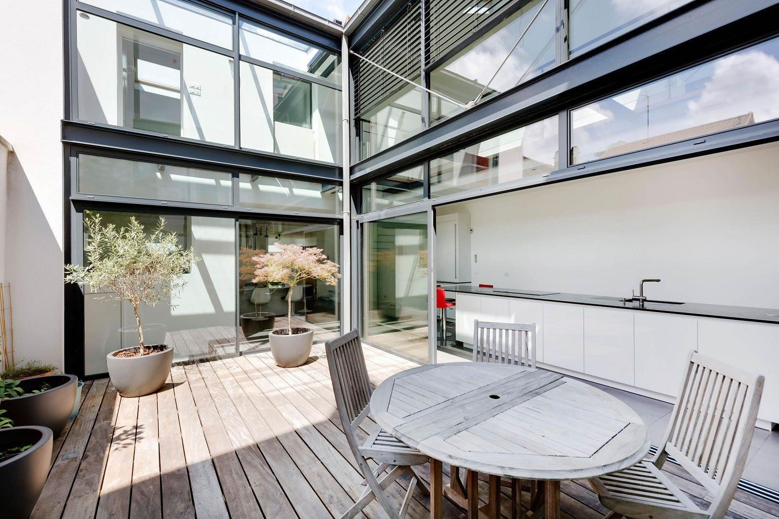 Very Beautiful Loft-Style House with Landscaped Garden For Sale in ...