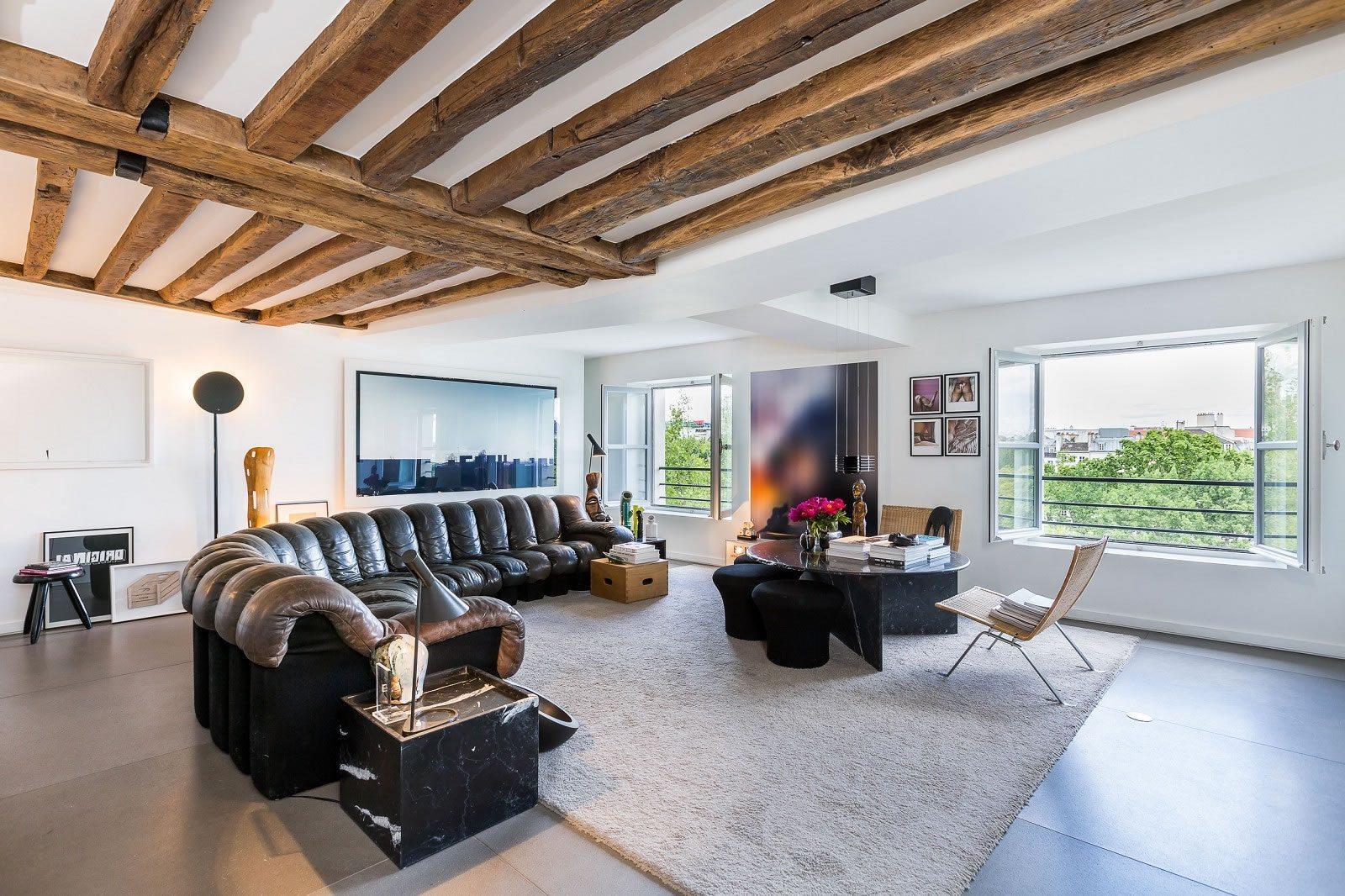 appartement exceptionnel de 3 chambres vendre sur l 39 avenue henri martin dans le 16 me. Black Bedroom Furniture Sets. Home Design Ideas