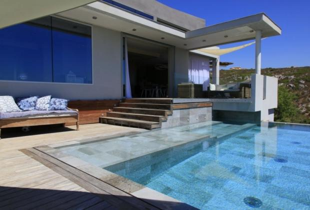 Beautiful Contemporary House Pool For Sale Marseille Fireplace