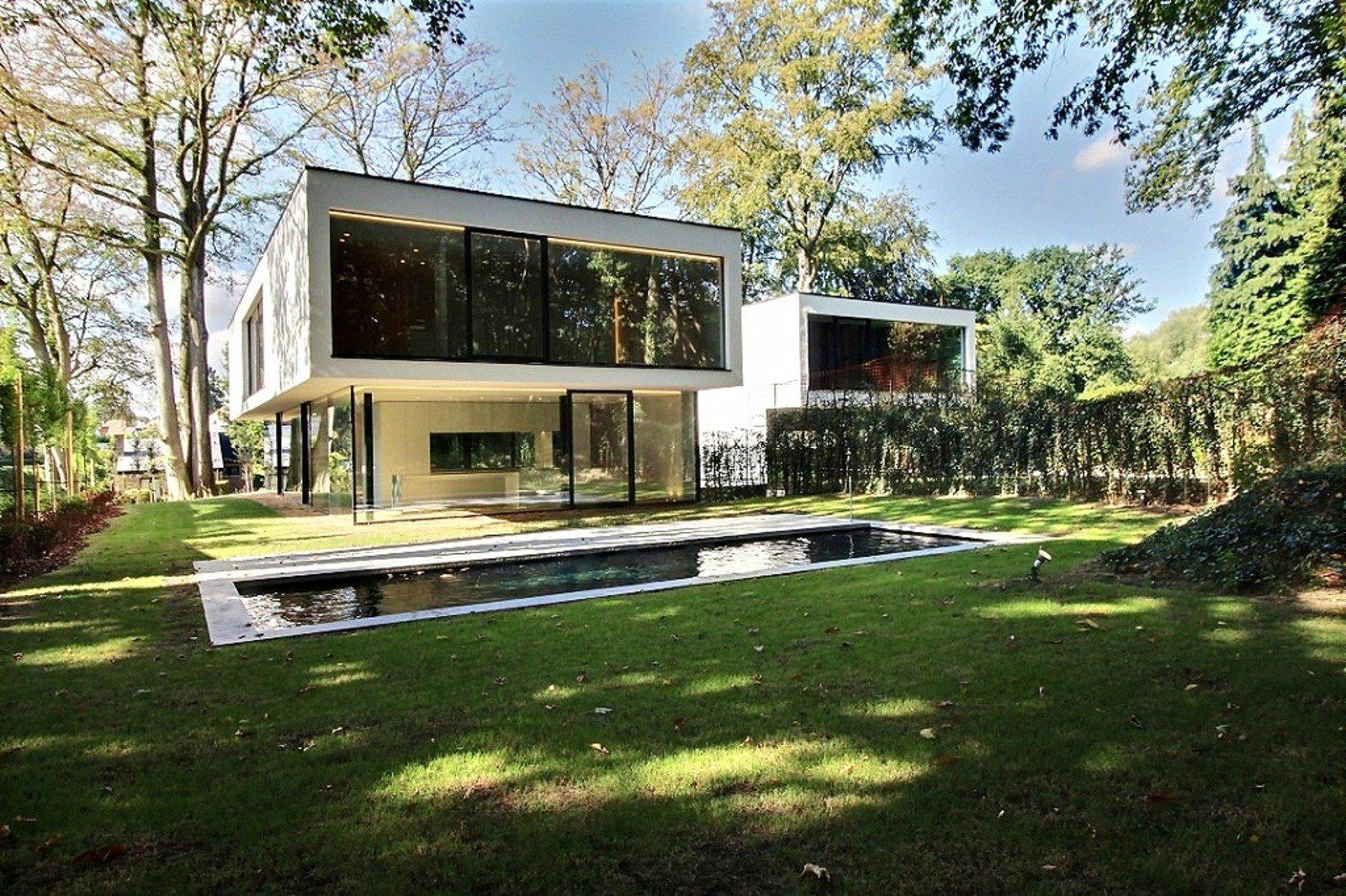 Contemporary Villa With Pool For Sale In The Forest Near Uccle ...
