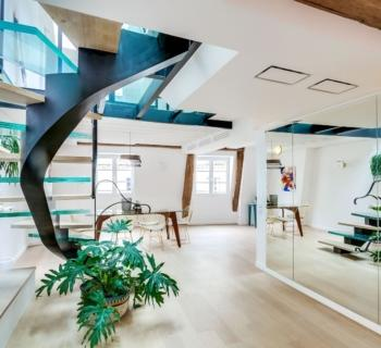 magnifique-duplex-renove-a-vendre-ascenseur-buanderie-espaces-rangement-cave