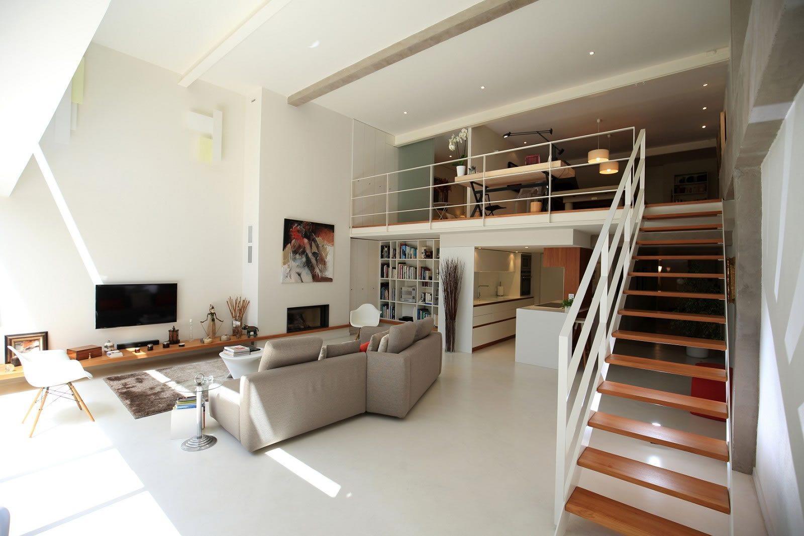 Appartement de style loft de 205 m2 vendre aux chartrons for Appartement type loft