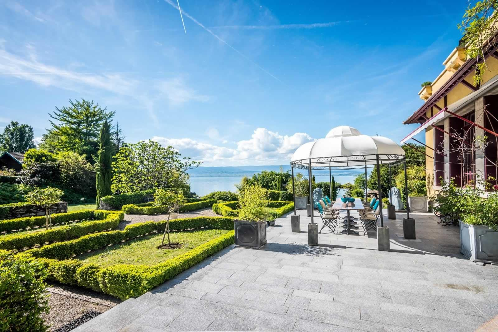 luxury-lakefront-estate-for-sale-thonon-les-bains-ground-garden-fireplace-terraces