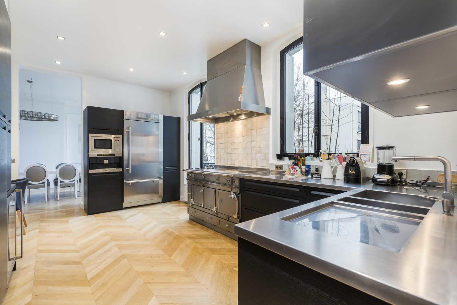 La Cornue Kitchen Cabinets