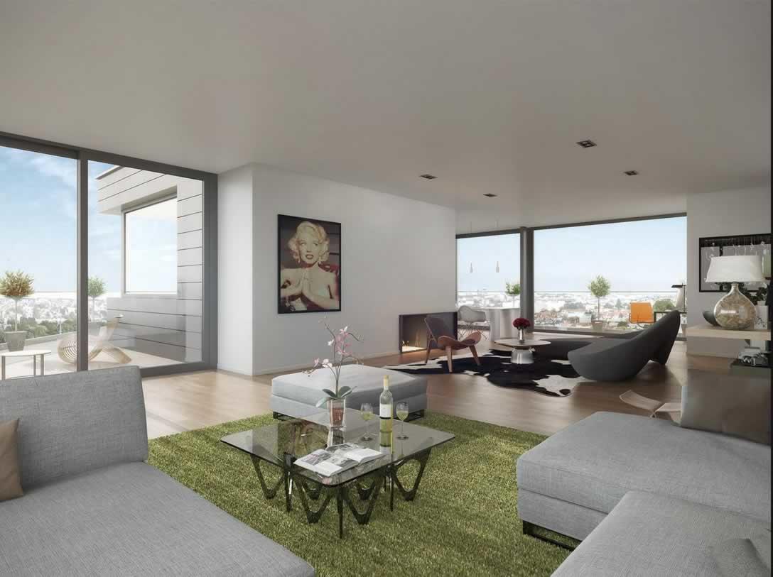 appartement-luxe-duplex-a-vendre-immeuble-contemporain-ixelles-terrasse-vue-panoramique-ascenseur-prive