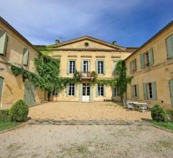 exceptional-6-hectare-chateau-estate-for-sale-in-genissac-pool-house-stables-vegetable-garden