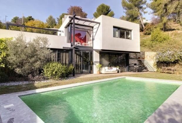 modern-villa-garden-swimming-pool-for-sale-cannet-large-bay-windows-fireplace