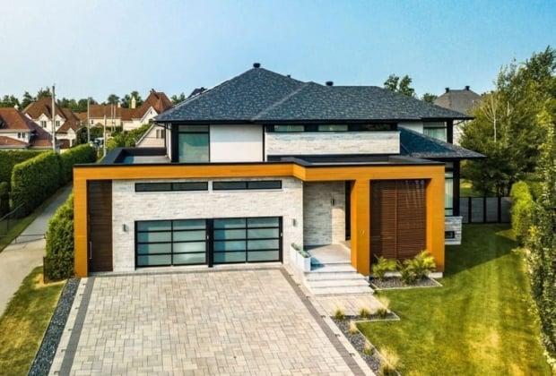 Prestigieuse Maison Moderne Avec Piscine A Vendre Dans Le Quartier