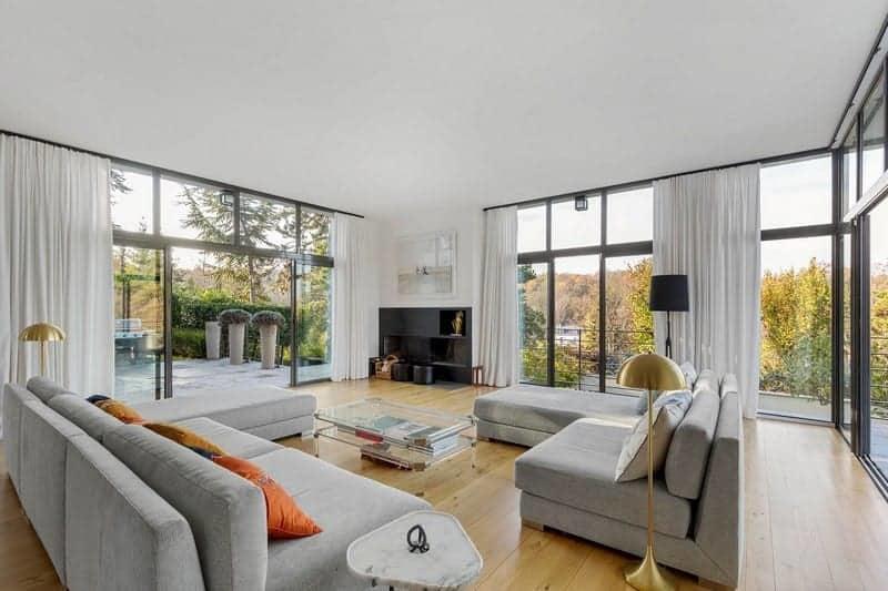 tr s belle maison d architecte vendre rueil malmaison 5 chambres terrasse chemin e. Black Bedroom Furniture Sets. Home Design Ideas