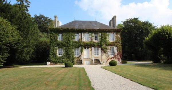 exceptional-residence-for-sale-caen-rosel-authentic-woodwork-moldings-stable