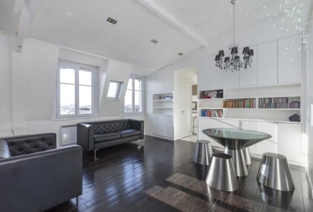 appartement familial avec des vues imprenables sur paris vendre saint mand 3 chambres