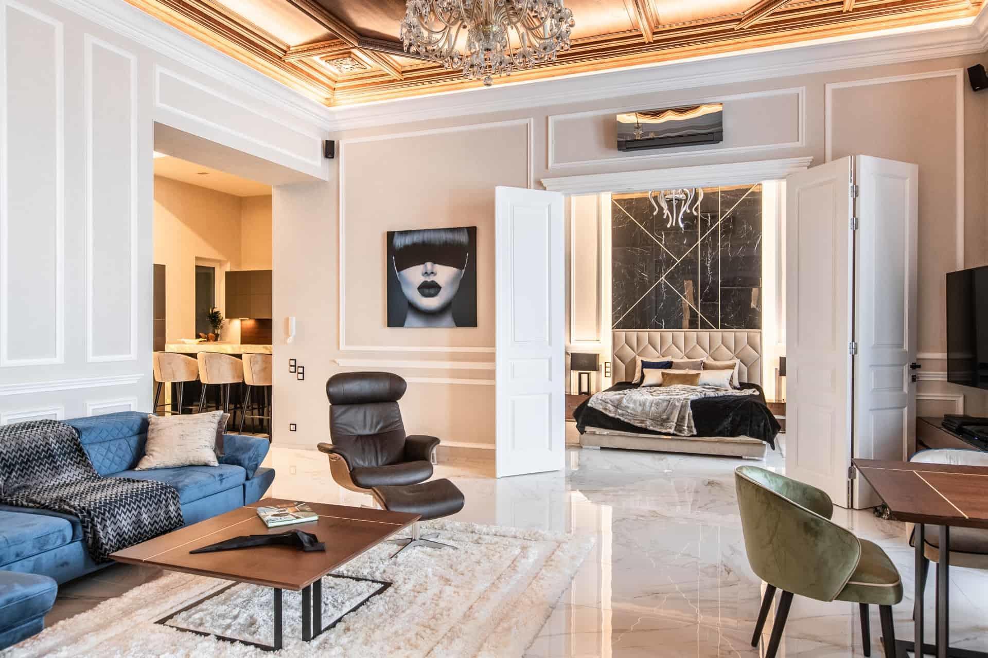 Appartement Meuble Luxueusement A Vendre A Budapest 3 Chambres
