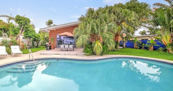 maison-a-vendre-miami-beach-piscine-garage-interieur